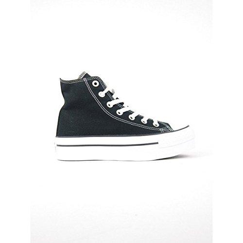 Converse Black Conve Sneakers In 540169c Tela Tomaia Platform Suola lF1KcJ