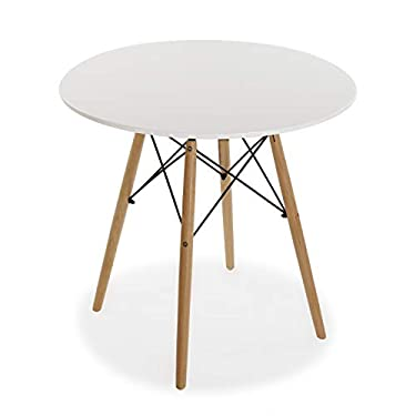 Versa-Mesa-terraza-Redonda-para-Cocina-Comedor-o-Jardin-80-x-80-x-73-cm-Color-Blanco-Madera-73-x-80-x-80-cm