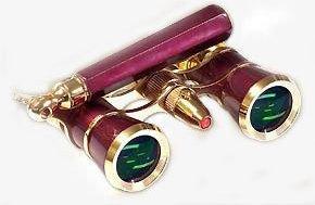 Lascala Optics Lolanta Opera Glasses, Lorgnette and Flashlig