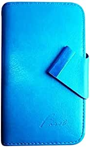 First Universal Mobile Cover With Rotating Base For Sony Xperia C3 Dual, Sky Blue