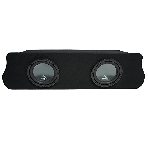 Compatible with 1994-2004 Ford Mustang Coupe Harmony R104 Dual 10″ Custom Sub Box Enclosure New