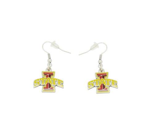 - aminco NCAA Dangler Earrings, Iowa State Cyclones