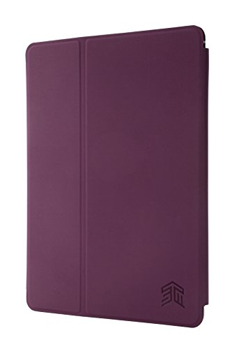 """STM Studio case designed to fit Apple iPad 5th Gen 9.7"""", iPad 6th Gen 9.7, iPad Pro 9.7, iPad Air 1, iPad Air 2 - Dark Purple - Case Purple Dark"""
