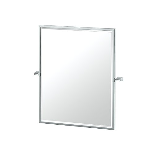 Gatco 4379Fsm Bleu Framed Small Rectangle Mirror Chrome Fram