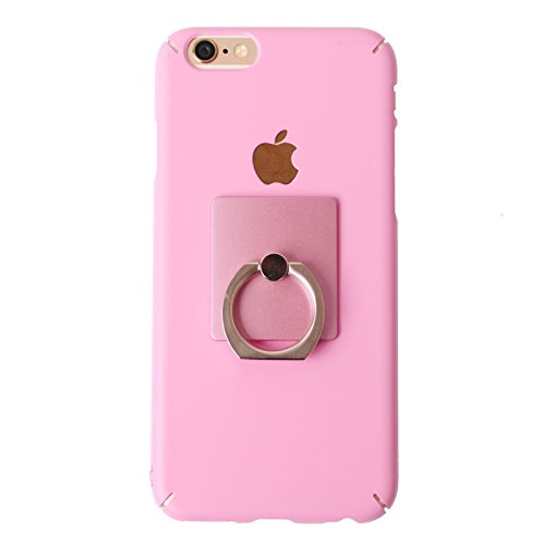 """iPhone 6 Case, @SKIN [Ring Holder] Protective [Slim Fit] [CutOut] Finger Ring Holder [Kick Stand] Cover Case for Apple iPhone 6 (4.7"""") (Light Pink)"""
