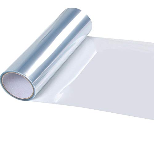 Vertily Car Protector Film,Car Headlight Taillight Fog Light Sticker Tint Protector Film Vinyl Wrap Decals,Film Anti Scratch Car Door Handle Sill Guard Bumper Hood Paint Protector Sticker Roll Sheet