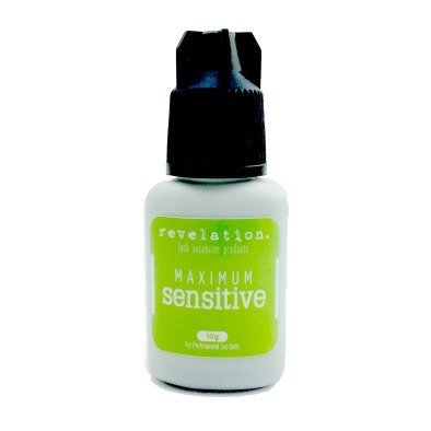 Maximum Sensitive Eyelash Extension Glue- 10g By Revelation. Medical Grade Eyelash Extension Adhesive Made in the USA. (10g)