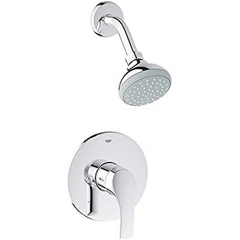 eurosmart new pressure balance shower faucet trim kit