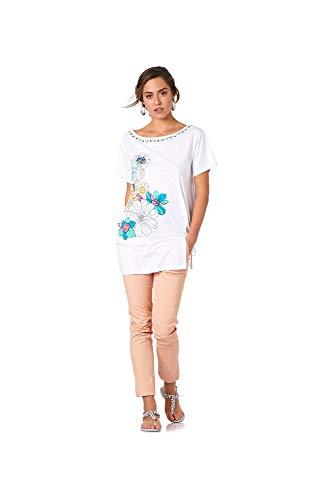 Bianco Cafe Asimmetrica T Shirt Noir UxSUwqFvnX