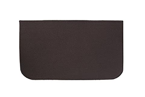 Ritz Accent Kitchen Rug with Latex Backing, 20-Inch by 36-Inch, Chocolate Brown - Color Door Mat