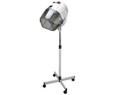 Floor Bonnet Stand Up Hair DRYER Hood Rolling Base Beauty Salon Equipment Wheels (Salon Standing Hair Dryer compare prices)