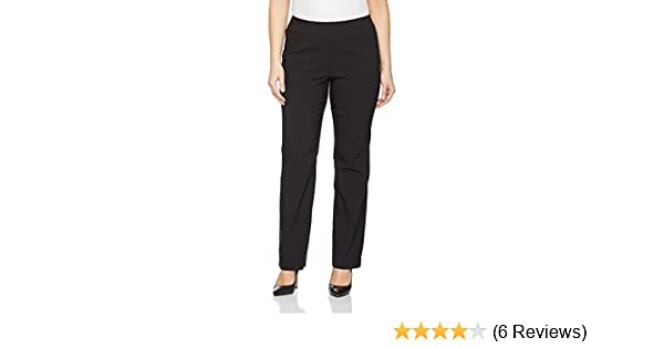 8c14ebe35973e Ulla Popken Women s Plus Size Bengaline Stretch Pants 615444 at Amazon  Women s Clothing store