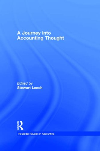 Download A Journey into Accounting Thought (Routledge Studies in Accounting) Pdf