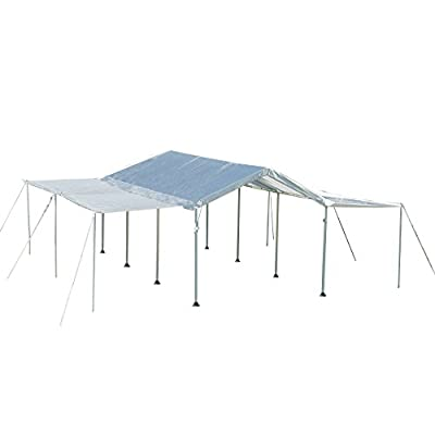 ShelterLogic MaxAP Canopy Extension Kit, White, 10 x 20 ft.: Sports & Outdoors