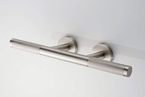 Sanliv Knurled Brass Shower Shaving Foot Rest for Hotel Bathrooms in Brushed Nickel Finish by SANLIV (Image #5)