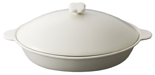 Hiromitsu Nozaki microwave porcelain pot FK-0112 by Kai