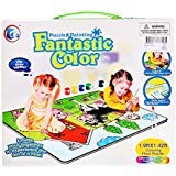 Dayan Cube Lanlan Animal House Puzzle and Painting Coloring Floor Puzzle Super Play Set (12-Piece)