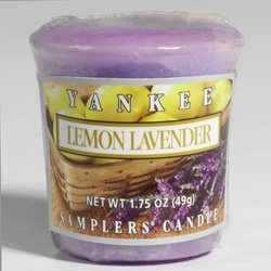 Lemon Lavender Full Case of Yankee Votives by Yankee Candle