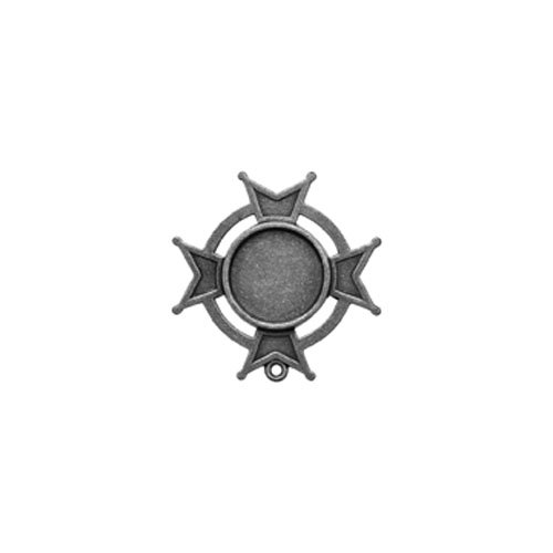 - Spellbinders GLSB-005S A Gilded Life Iron Cross Bezel, Small - Silver