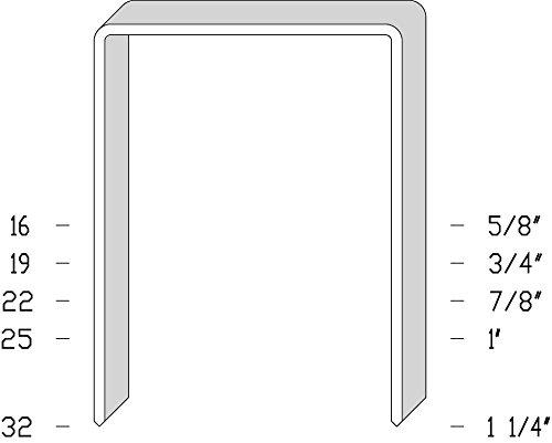 JK590-19K 3/4'' Staples (8 Boxes Per Case) - AXXIS-JK590-19K