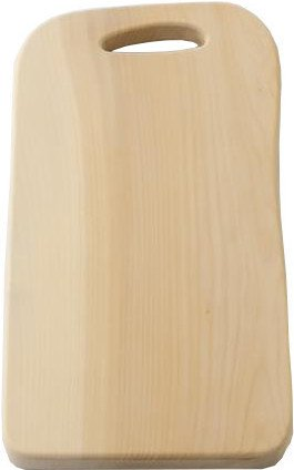 Handcrafted Ginkgo Wood Cutting Board for Professionals, Solid Natural Wood Chopping Board, Large Type 3 (Tree Banboo)
