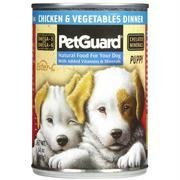 Petguard Chicken & Vegetable, Puppy 14 oz. (Pack of 12)
