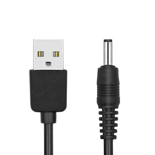 HUACAM HC06 3 Pack 3 feet USB to 3.5mm Barrel Jack 5V DC Cable Plug