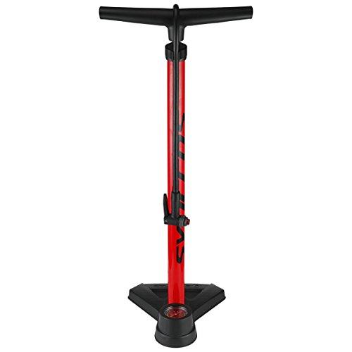 Syncros FP3.0 Bicycle Floor Pump - 238842 (red/black)