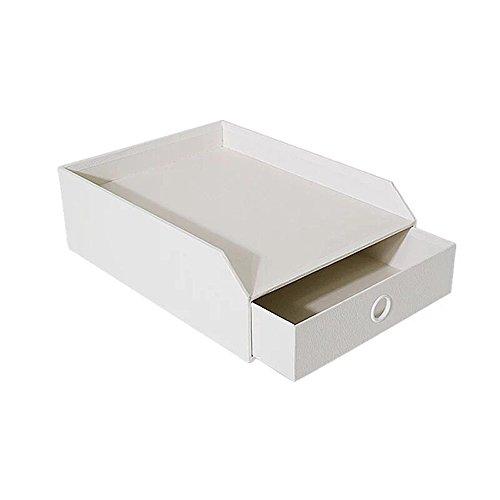 desk office file document paper. New UnionBasic Stackable Office File Document Tray Case Rack Desk Organizer Holder (White Paper L