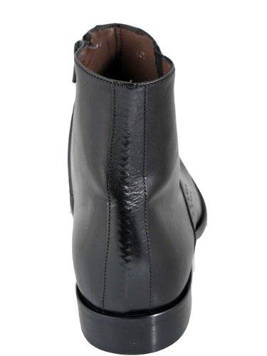 Mens Italian Designer Ducanero Fashion Dress/casual 1194 ankle boot Black Black RAoMnv