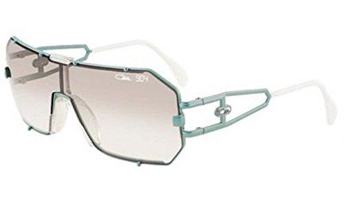 Cazal 904-339 Square Sunglasses,Mint Frame/Blue Gradient Lens,57 - Cazal Vintage Sunglasses