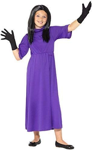 Girls Official Head Witch Roald Dahl Witches World Book Day Week Halloween Scary Fancy Dress Costume Outfit (7-9 Years) ()