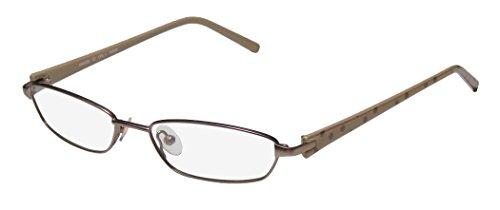 Karen Millen Km0068 Womens/Ladies Designer Full-rim Eyeglasses/Glasses (52-16-135, Taupe / Polka - Millen Glasses Karen Frames