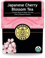Organic Japanese Cherry Blossom Tea Buddha Teas 18 Bags Box