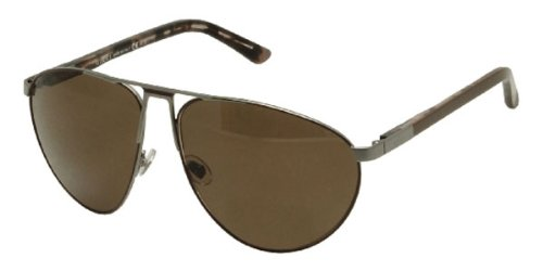 Gucci Mens GG2212 Brown - Dark grey Organic polarized Sunglasses lenses 62 mm