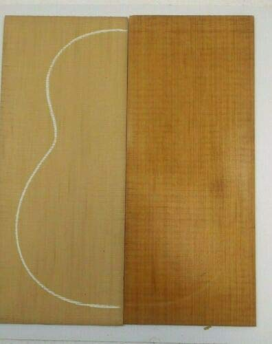 2 Pcs of BEAUTIFUL RED CEDAR CLASSICAL LUTHIER TONEWOOD - Luthiers Classical Guitar