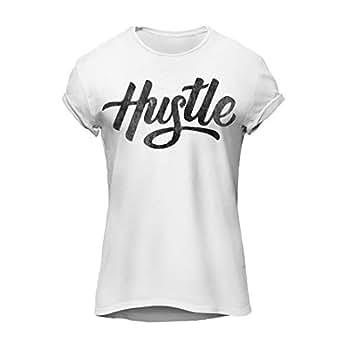 Hustle-Cool Graphic T-Shirt, Premium Cotton by ZEZIGN