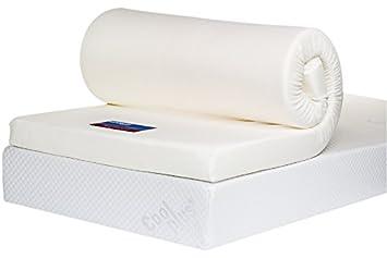 Bodymould Mattresses IKEA Europeo - colchón de Espuma viscoelástica Superior, 10 cm, Topper, Amarillo, Matrimonio EU (160 x 200 cm): Amazon.es: Hogar