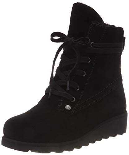 - BEARPAW Womens Krista Closed Toe Mid-Calf Cold Weather Boots, Black, Size 9.0