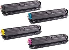 Ink Now Premium Compatible Combo Pack (all colors) for HP Toners CE270A,CE271A,CE272A,CE273A for Color LaserJet Enterprise CP5525, CP5525DN, CP5525N, CP5525XH printers by Ink Now