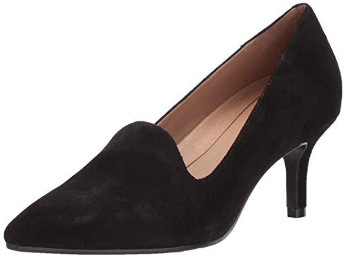 Aerosoles Women's Macrame Pump, Black Suede, 7 M US