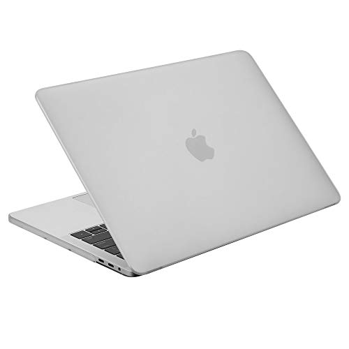 Case Star MacBook Pro 13 Inch Case 2020 2019 2018 2017 2016 Release A1706 A1708 A1989 A2159 Ultra Thin Plastic Hard Sleeve Cover & Keyboard Cover & Small Pouch (Frost Clear)