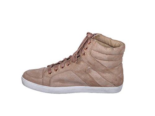 New! Metallic Glitter Lace Up High Top Ankle Fashion Sneakers C_oatmealimsu VFPbis