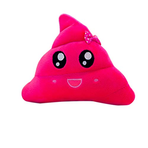 SKYLULU❀ ❀Creative Poop Plush Toy Funny Face Funny