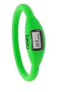 breo Roam - Reloj para niños de cuarzo, correa de goma color verde
