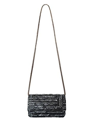 Portafoglio donna Mia Bag leather pixel nero cod. 17325