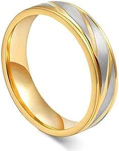 Unisex Ring By Bluna, Size 6, R046