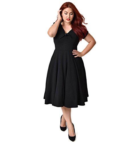 40s style dresses plus size - 8