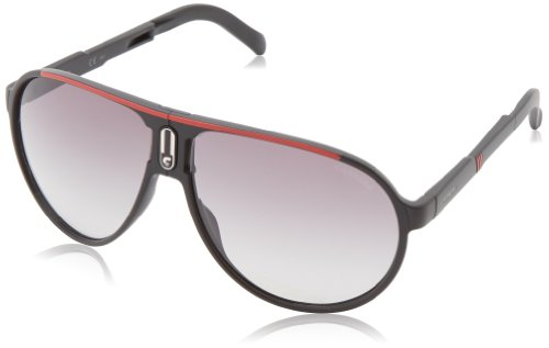 Carrera Champfolds Aviator Sunglasses,Black Red,62 mm