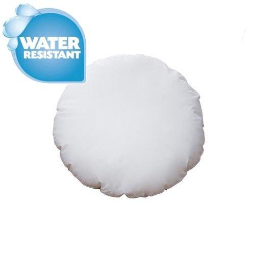 IZO Home Goods Premium Outdoor Anti-mold Water Resistant 16 Inch Diameter Round Round Floor Pillow Insert Cushion Seating